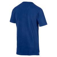 PUMA Athletics Tee Herren T-shirt Sportswear 852332 27 blau