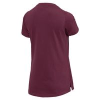 PUMA Athletic Tee Damen T-shirt Sportswear 851857 22 violett