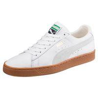 Puma Basket Classic Gum Deluxe UNISEX Sneaker 365366 01 weiss