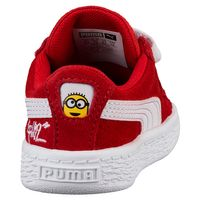 Puma Minions Suede V PS Kinder Sneaker Schuhe 365528 01 rot
