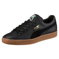 Puma Basket Classic Gum Deluxe UNISEX Sneaker 365366 02 schwarz
