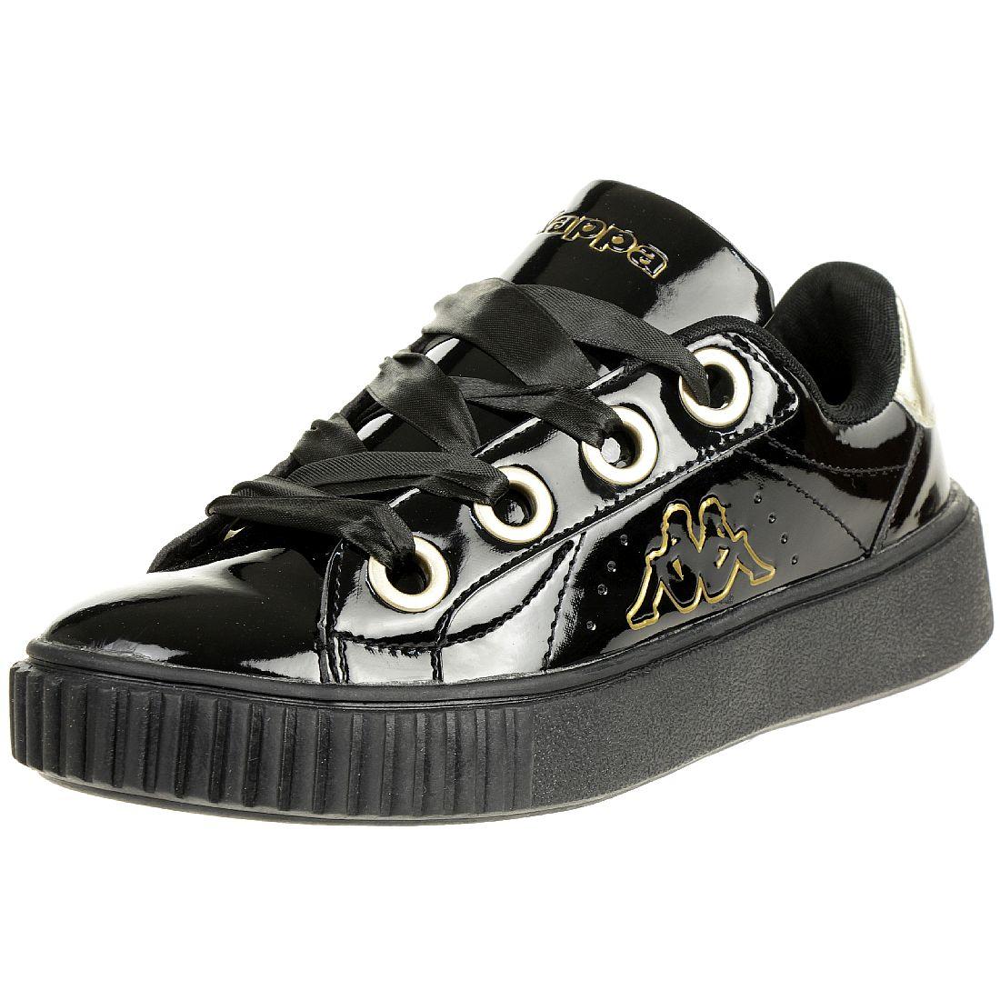 Bikkembergs Sneaker für Damen 599372 SchwarzGold XW27D2HGO