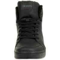 Kappa Nanook Hohe Sneaker Herren gefüttert schwarz