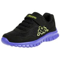 Kappa Jungen Sneaker Follow BC K Schuhe schwarz/blau