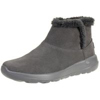 Skechers On the Go JOY BUNDLE UP Stiefel Damen Winterschuhe gefüttert Grau
