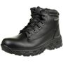 Skechers Morson SINATRO Stiefel Outdoor Schuhe Waterproof Leder RELAXED FIT BLK 001