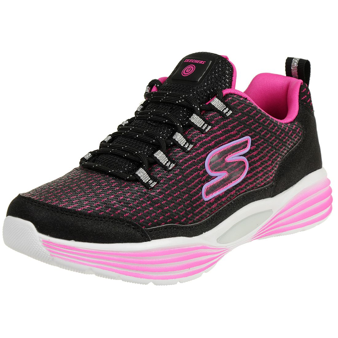 Skechers S Lights LUMINATORS LUXE Mädchen Sneaker Blink