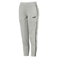 PUMA Tape Pants TR op  Damen Sporthose Trainings Hose 852142 04 grau