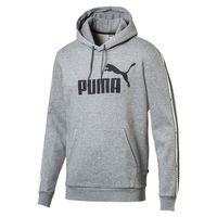 PUMA Tape Hoody  No. 1 Logo Herren Sweatshirt Kapuzenpullover grau 852416