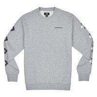 Converse Star Chevron Graphic Crew VGH Herren Sweatshirt grau