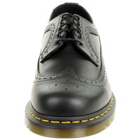Dr. Martens 3989 Z smooth Black Wingtip Brogue Halbschuhe schwarz Leder