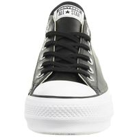Converse C Taylor All Star LIFT CLEAN OX Chuck Sneaker Leder plateau 561681C