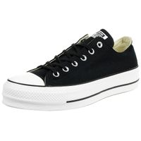 Converse C Taylor All Star LIFT OX Chuck plateau Sneaker canvas black 560250C