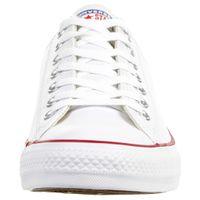 Converse C Taylor All Star OX Chuck Schuhe Sneaker Leder weiss 132173C