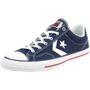 Converse STAR PLAYER OX Schuhe Sneaker Canvas Blau 144150C 001