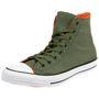 Converse C Taylor All Star HI Chuck Schuhe Sneaker Lightweight Nylon grün 162391C 001