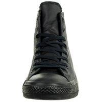 Converse C Taylor All Star HI Chuck Sneaker Leder mono schwarz 135251C