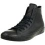 Converse C Taylor All Star HI Chuck Sneaker Leder mono schwarz 135251C 001