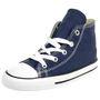 Converse INF CTAS HI Kinder Sneaker Chucks unisex KIDS canvas blau 7J233C 001