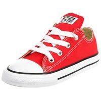 Converse INF CTAS OX Chucks Kinder Sneaker KIDS canvas rot 7J236C