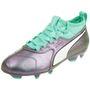 Puma Kinder Fußballschuhe One 3 IL Lth FG Jr Fußball 104790 01 001