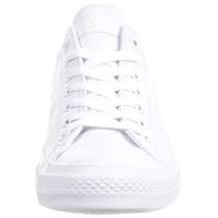 Converse C Taylor All Star OX Chuck Sneaker Leder mono weiß 136823C