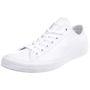 Converse C Taylor All Star OX Chuck Sneaker Leder mono weiß 136823C 001