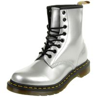 Dr. Martens 1460 Vegan Chrome Damenstiefel Metallic silber 24865040