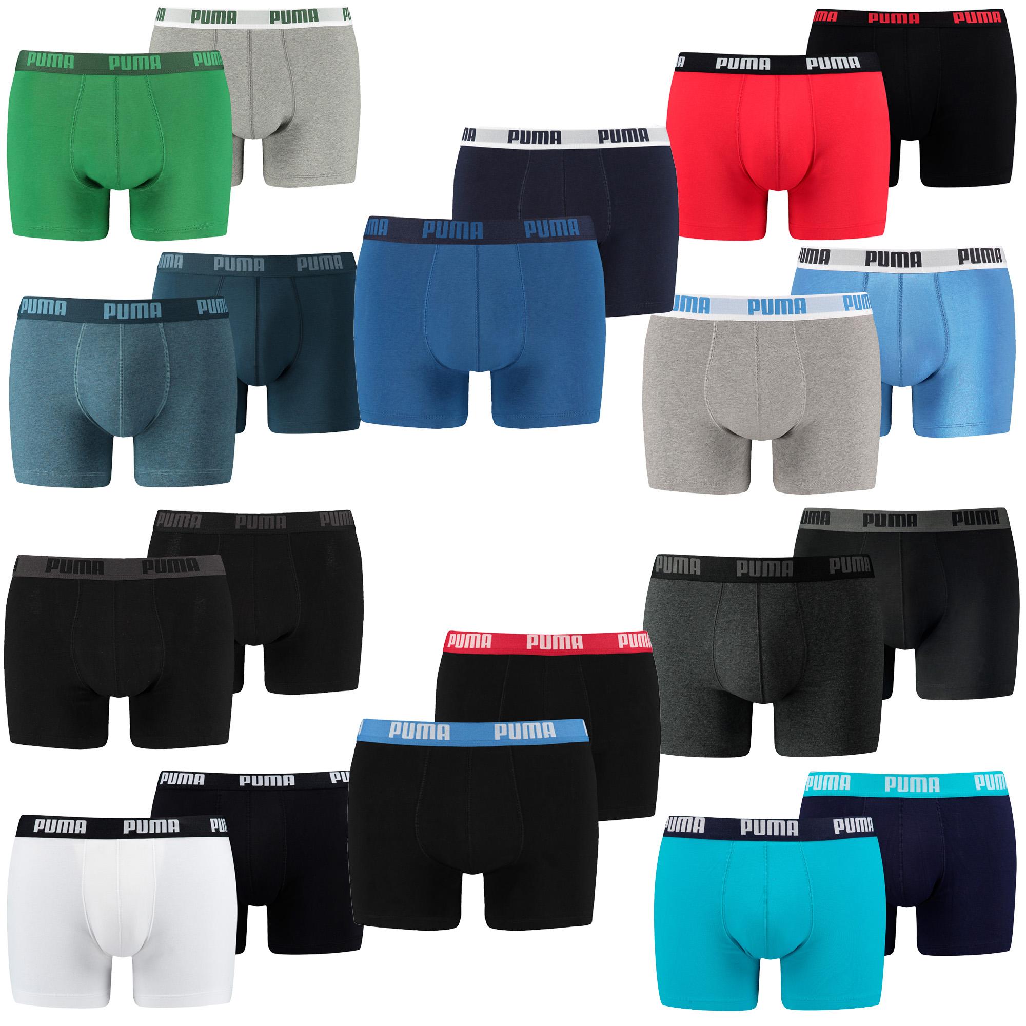 12 er Pack Puma Boxer Boxershorts Men Herren Unterhose Pant