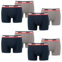 8 er Pack Levis Boxer Brief Boxershorts Men Herren Unterhose Pant Unterwäsche