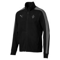 Puma BMG Triple Black Sweat Jacket Borussia Mönchengladbach Herren Jacke 754600 10