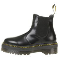Dr. Martens Damen Chelsea Boots Quad Retro polished smooth schwarz 24687001