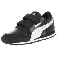 PUMA Cabana Racer SL V Inf Kinder Sneaker Klettverschluss Blau 351980