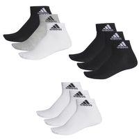 6 Paar adidas Performance Sneaker / Quarter Socken  Unisex Kurzsocke