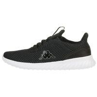 Kappa DEFT Sneaker Unisex Turnschuhe Schuhe schwarz/weiss 242684