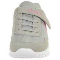 Kappa Unisex-Kinder Sneaker Follow K Light Grey/Pink