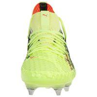 Puma Herren Fußballschuhe Future 18.1 NETFIX Mx SG Fußball gelb 104366 01