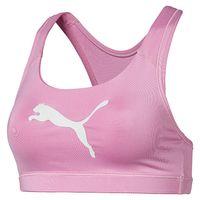 PUMA Damen 4Keeps Bra M Bustier SPORT-BH BRA Pink 516996