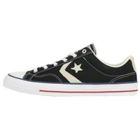 Converse STAR PLAYER OX Schuhe Sneaker Canvas Schwarz 144145C