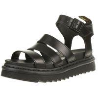 Dr. Martens Blaire Brando Black Chunky 3 Strap Sandale Damen schwarz 24191001