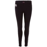 Kappa Emilia Leggings Damen Pants Leggings schwarz 305034 005