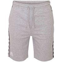 Kappa Emilio Unisex Shorts Jogginghose Sweathose kurz grau 305006