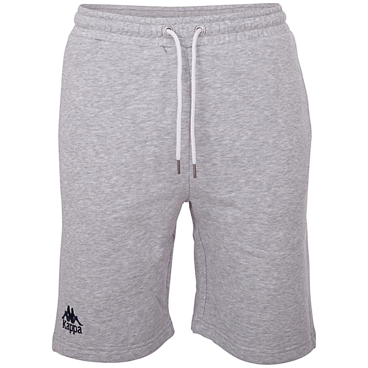 Hosen - Kappa Herren TOPEN Shorts Jogginghose Sweathose grau 705423 M  - Onlineshop Sneakerprofi