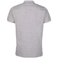 Kappa Unisex Polo Shirt PELEOT Damen Herren 303173 grau