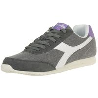 Diadora Jog Light C Damen Sneaker Turnschuh grau