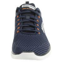 Skechers Equalizer 3.0 Herren Air Cooled Sneaker Sportschuhe Trainer Memory Foam blau