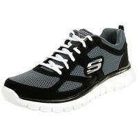 Skechers BURNS AGOURA Herren Sneaker Fitness Schuhe BKW