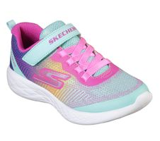 Skechers Girls GO RUN 600 DAZZLE STRIDES Sneakers Kinder Schuhe Türkis
