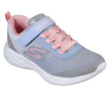 Skechers Girls GO RUN 600 DAZZLE STRIDES Sneakers Kinder Schuhe Grau