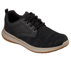 Skechers Men USA DELSON FONZO Sneakers Herren Schuhe Schwarz